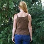Ophelia Lace & Cable Camisole Knitting Kit